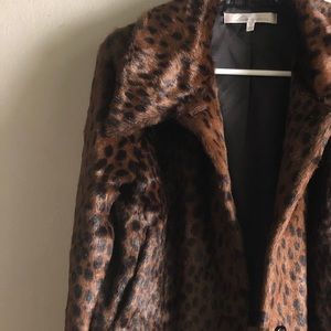 Lovers + Friends Faux Fur Jacket